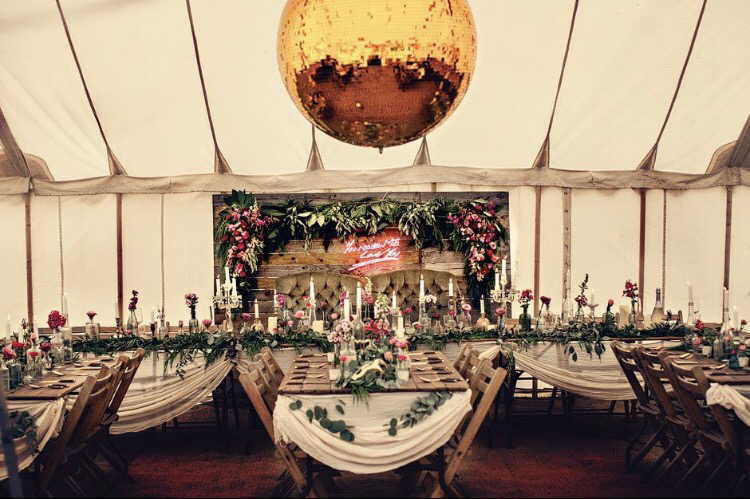 Dottie Events & Hire, marquee, wedding styling, event decor