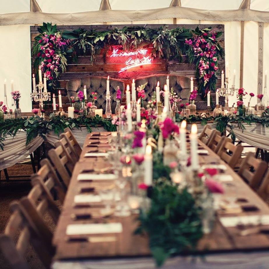 Wedding hire, event styling, event design
