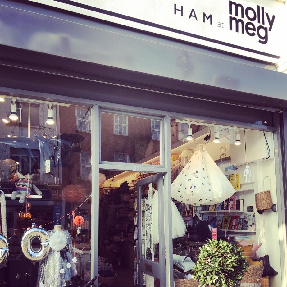 Molly-Meg Islington, children's shop