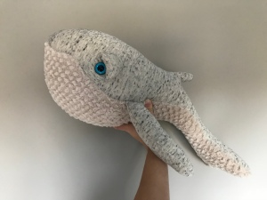 Whale: by BigStuffed but also available from some of my favourite shops such as Liberty, Molly -Meg and Smallable