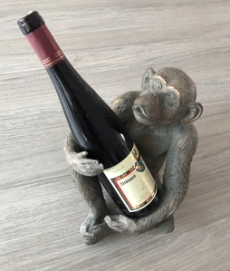 Monkey wine bottle holder, Graham and Green, Home accessories, quirky interiors