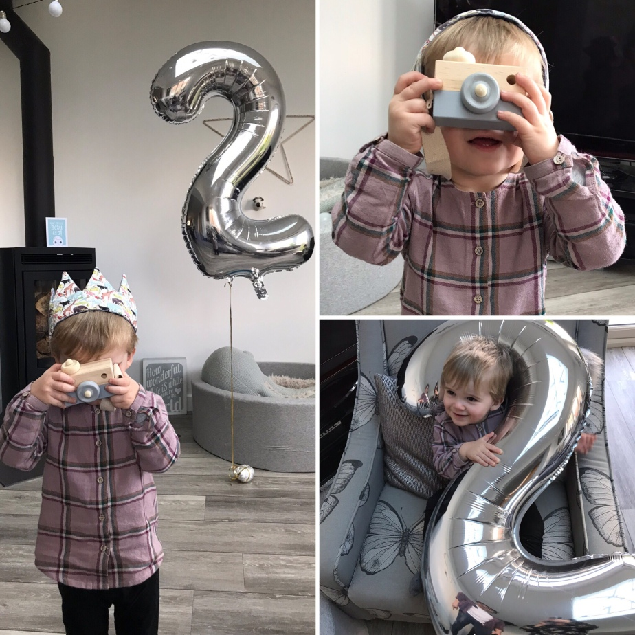 Toddler, turning two, 2nd birthday,